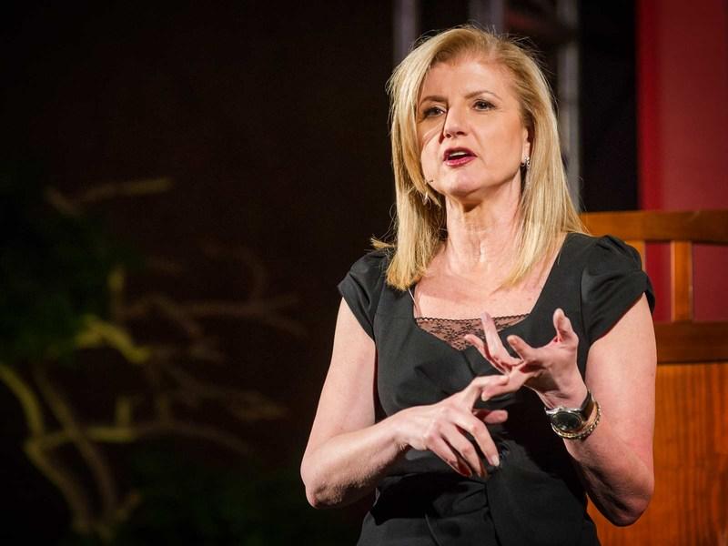 Arianna Huffington TED Talk