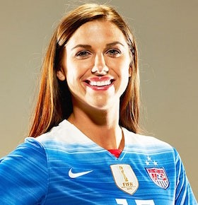 sports speaker alex morgan