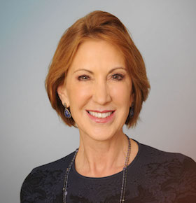 social media speaker carly fiorina