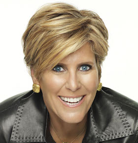 Suze Orman motivational speaker