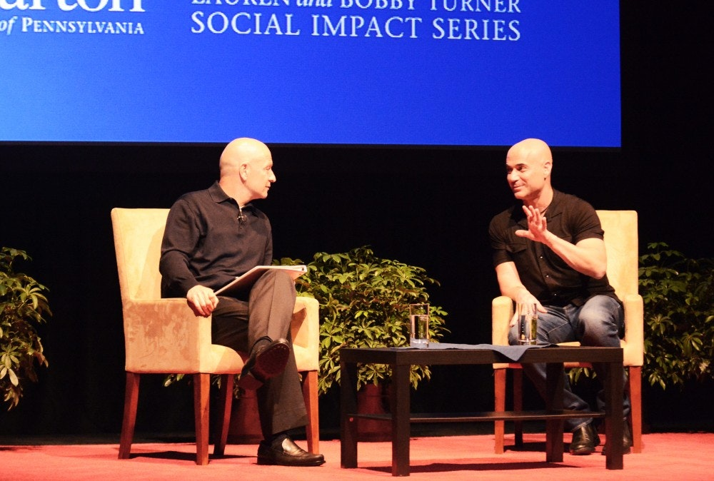 A Dialogue with Andre Agassi, Wharton University Social Impact Initiative