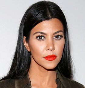 reality tv speaker kourtney kardashian