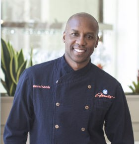 celebrity chef speaker marvin woods