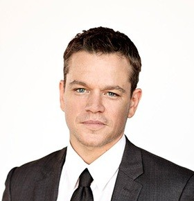 celebrity speaker matt damon