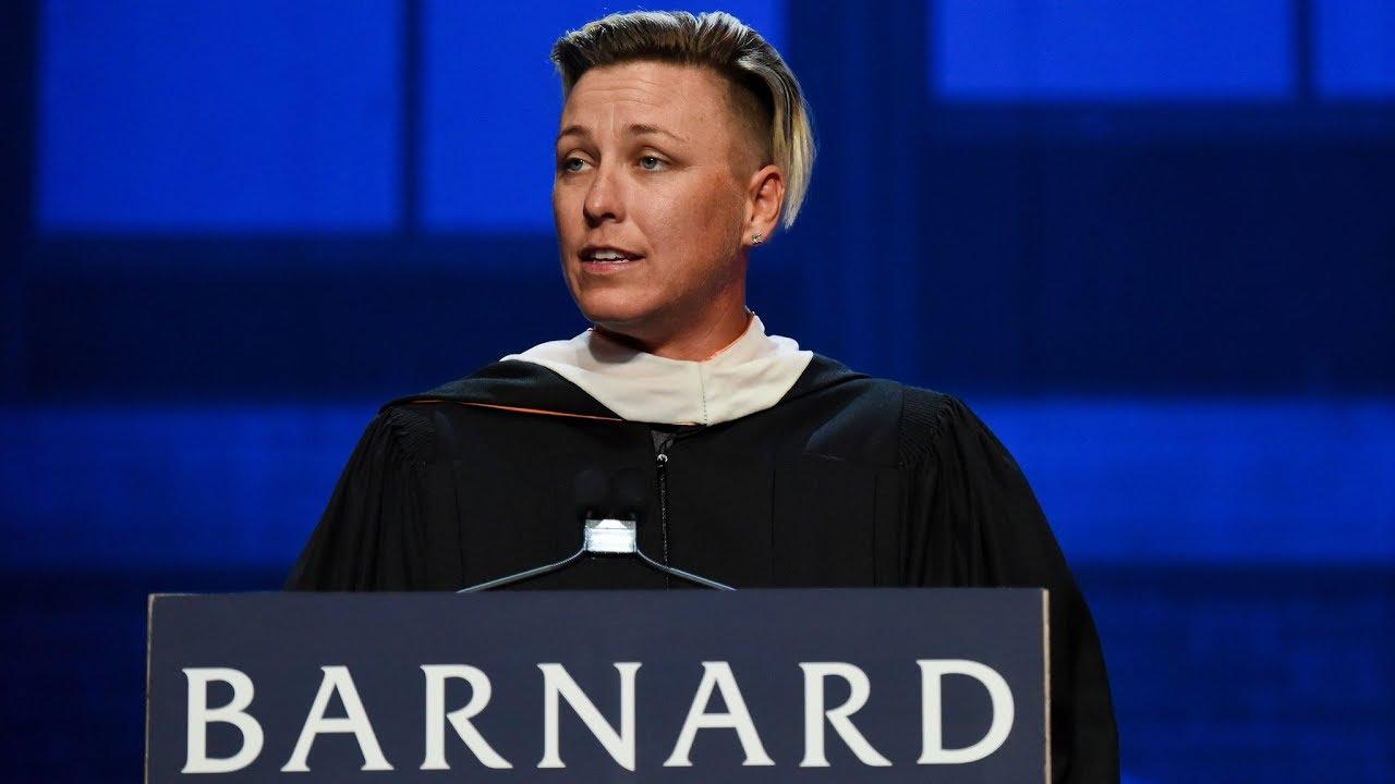 Abby Wambach 2018  Barnard College Commencement Speech