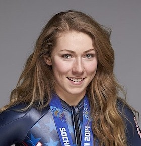 Mikaela Shiffrin sports speaker