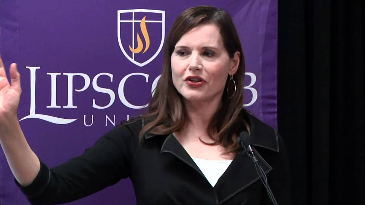 Geena Davis at Lipscomb University