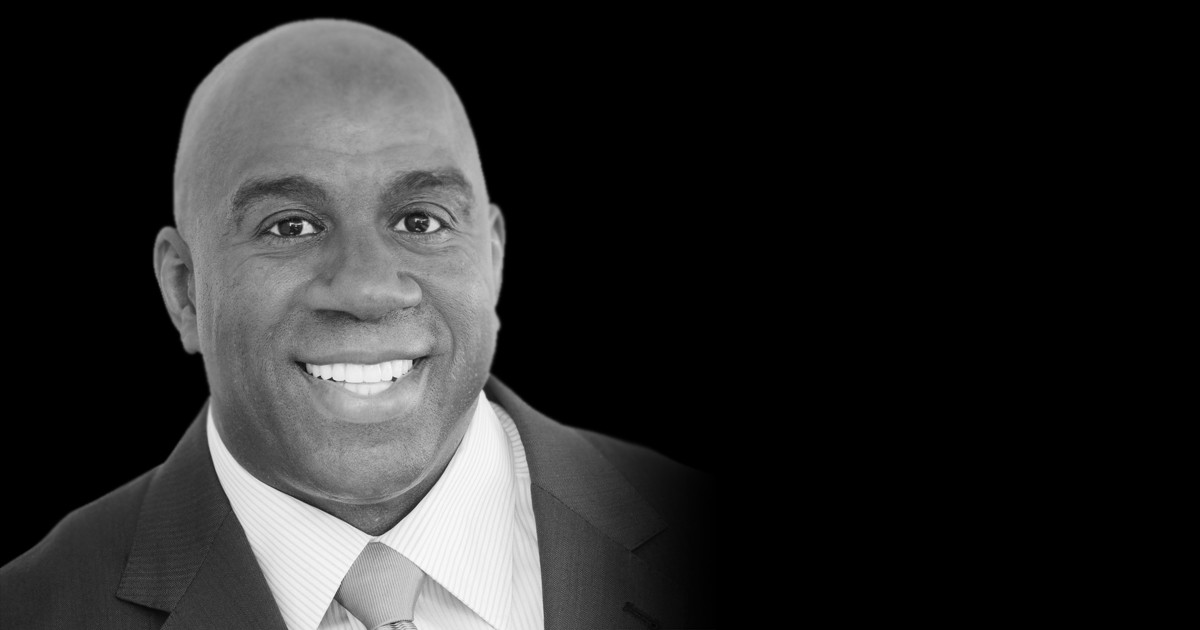 MAGIC JOHNSON NBA Legend