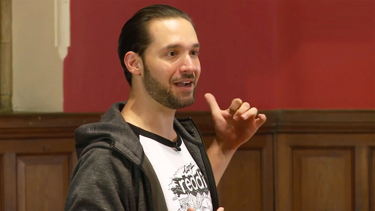 Alexis Ohanian at Oxford Union