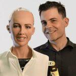 hire sophia robot and dr. hanson technology speaker