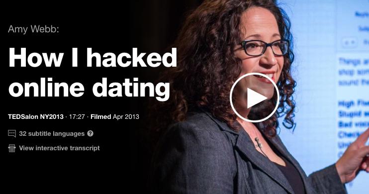 Amy Webb TED Talk