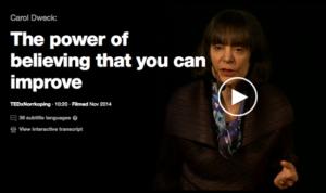 Carol Dweck TED
